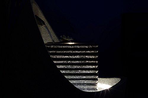Moderner Brunnen für Terrasse oder Garten mit LED-Beleuchtung - 11