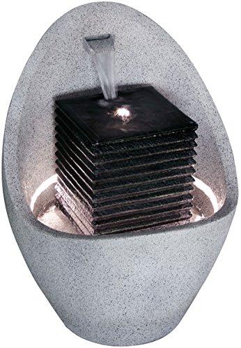 Moderner Brunnen für Terrasse oder Garten mit LED-Beleuchtung - 6