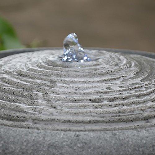 Zimmerbrunnen Terrazza Fontaine mit LED-Beleuchtung von Zen Light - 4