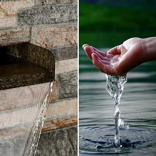 """Moderner Wandbrunnen """"Watergate"""" für den Garten oder die Wohnung von blumfeldt - 4"""