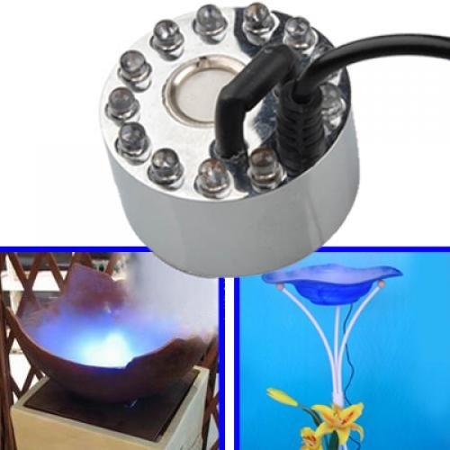 12 LED Beleuchtung Teich Brunnen Nebel Hersteller Maschine Fogger Mister - 3