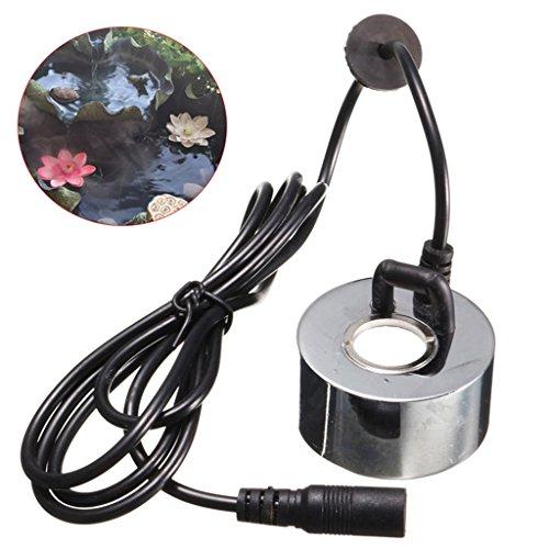 MagiDeal Nebel Hersteller Maschine, Mist Maker, Luftbefeuchter mit EU SteckerAdapter für Brunnen Teich - 4