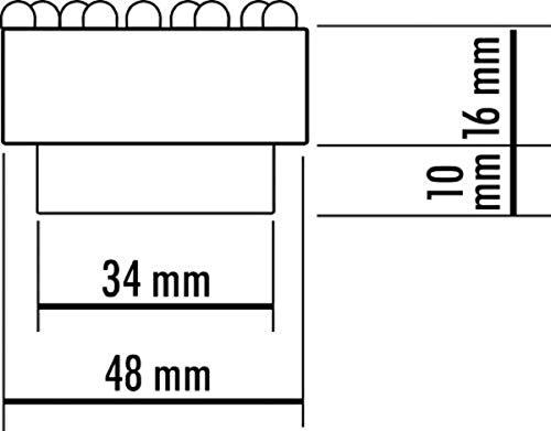 Seliger® Quellsteinbeleuchtung Quellstar 900 LED Leuchteinheit warmweiß - 3