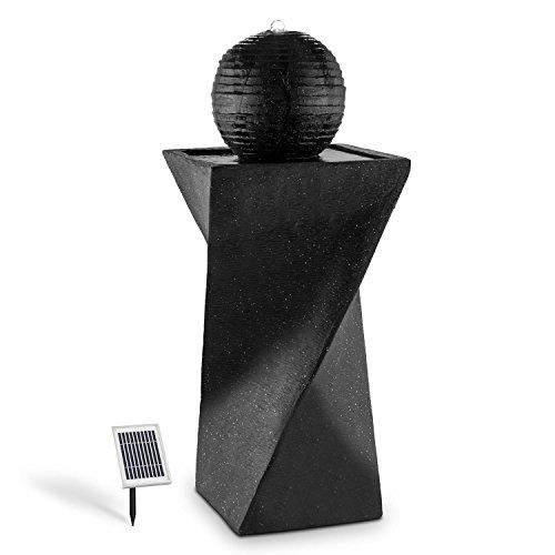 Kugelbrunnen Solar mit LED-Beleuchtung von blumfeldt
