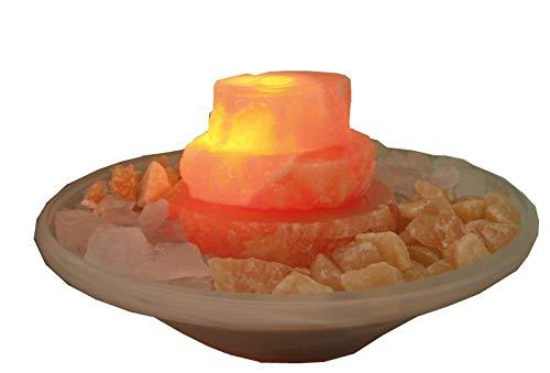 Edelsteinbrunnen mit Beleuchtung und dreistufiger Kaskade von Home Trends and More - 3