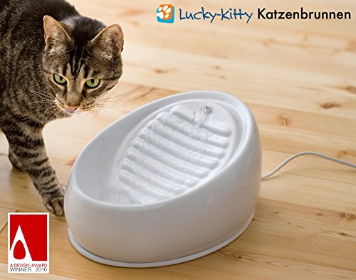 Lucky-Kitty Katzenbrunnen aus Keramik - 2
