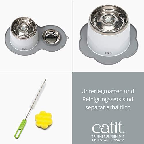 """Katzenbrunnen """"Fresh & Clear"""" mit Edelstahleinsatz von Catit 2 L - 3"""