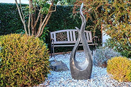 Kiom Brunnen Springbrunnen Gartenbrunnen FoCurved 133cm 10777 - 5