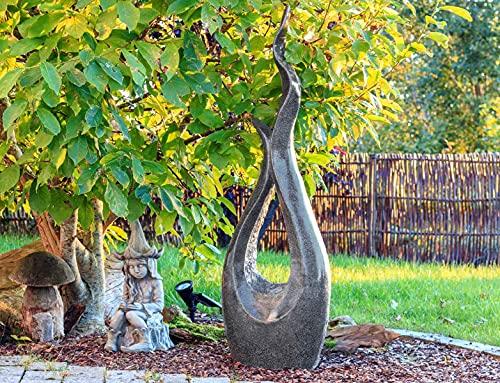 Kiom Brunnen Springbrunnen Gartenbrunnen FoCurved 133cm 10777 - 6