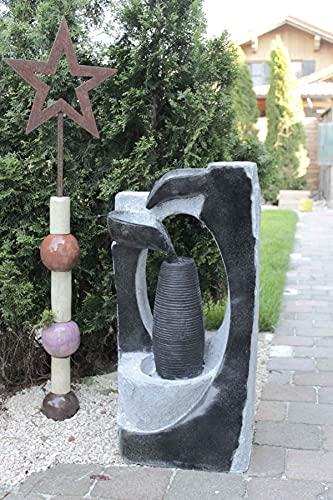 Kiom Brunnen Springbrunnen FoColonnina für Aussen + Innen 87 cm - 4