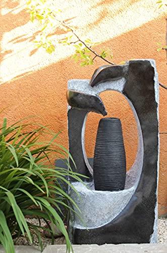 Kiom Brunnen Springbrunnen FoColonnina für Aussen + Innen 87 cm - 5