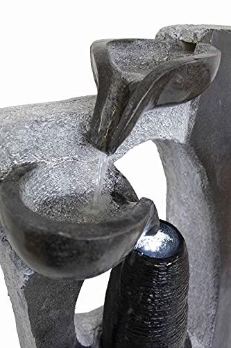 Kiom Brunnen Springbrunnen FoColonnina für Aussen + Innen 87 cm - 8