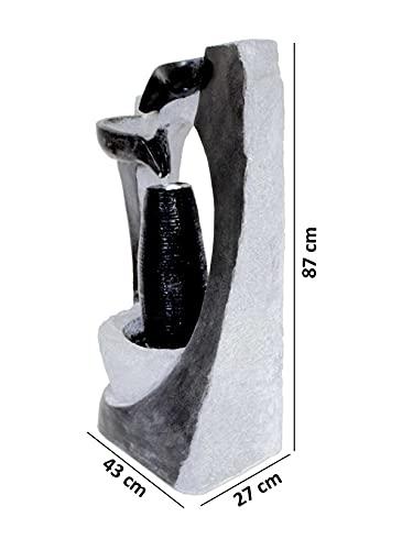 Großer Kaskadenbrunnen FoColonnina 87 cm - 9