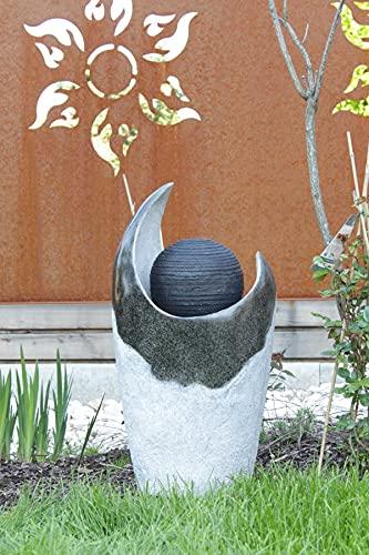 Kiom Brunnen Springbrunnen FoSferico für Aussen + Innen 70cm - 8