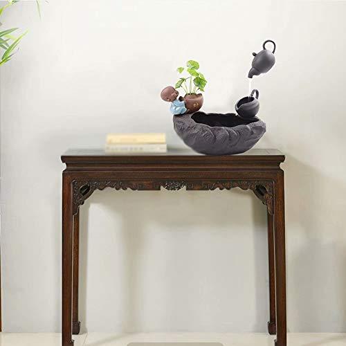 HSTFⓇ Kreative fließende Wasserdekoration, kleine Mischa, Bürowohnzimmer, Arbeitszimmer, Teehausdekoration (mit Nebel) - 5