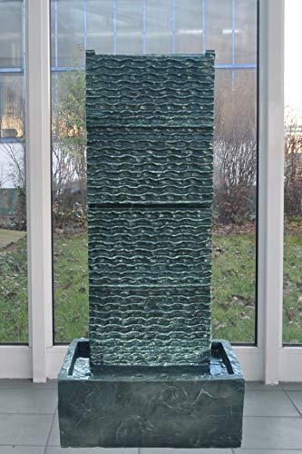 Köhko Zimmerbrunnen Höhe ca. 85 cm mit LED-Beleuchtung Wasserfall für Wohnzimmer Terrasse und Balkon - 2