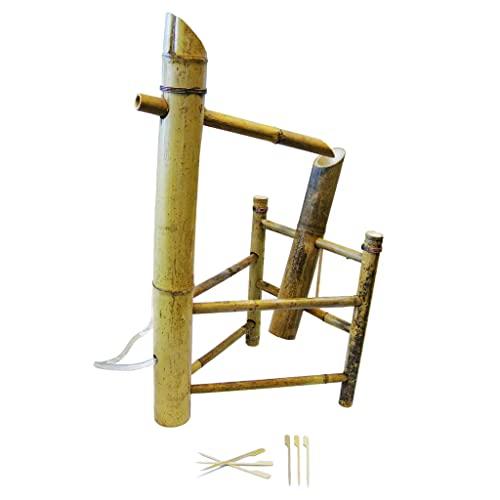 Bambus Wasserspiel für Brunnen mit Wippe