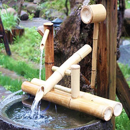 Wasserspiel für Bambusbrunnen mit Wippe