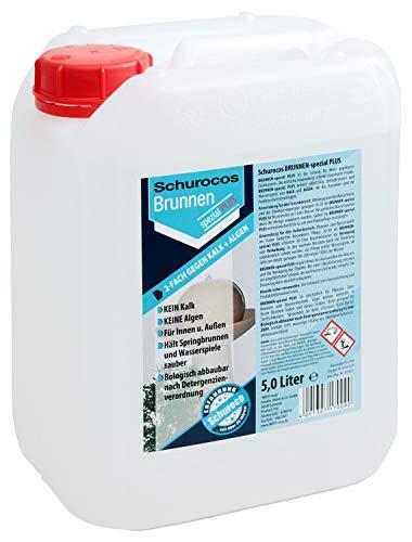 Wasserzusatz Brunnen-Spezial Plus 5 Liter von Schuroco