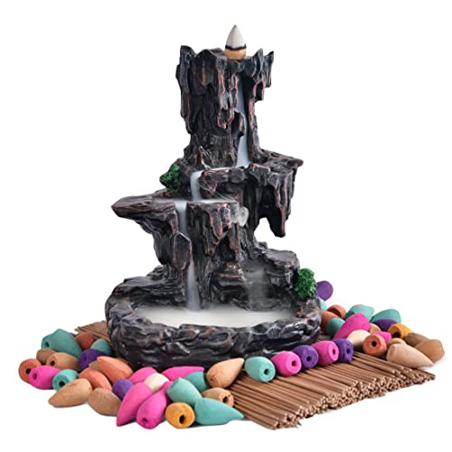 Rauchbrunnen Wasserfall in Bergdesign