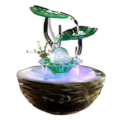 Nebelbrunnen mit Beleuchtung aus Keramik