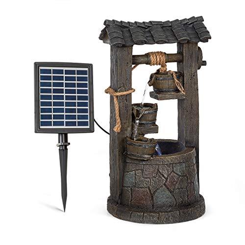 Solarbrunnen mit Akku, Kaskaden und Beleuchtung Speyer