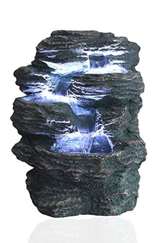 """Zimmerspringbrunnen """"Niagara"""" mit LED-Beleuchtung von Arnusa"""