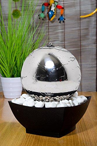 """Kugelbrunnen """"Samba"""" mit LED-Beleuchtung - 2"""