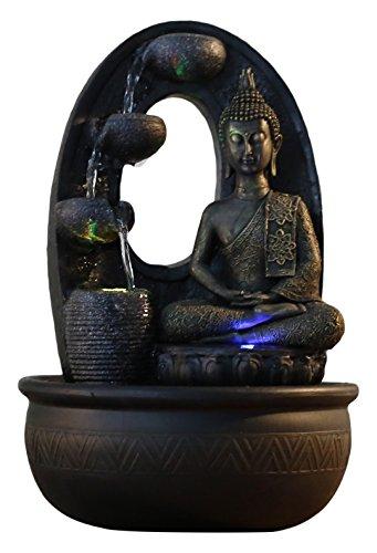 Feng Shui Zimmerbrunnen Harmonie mit Beleuchtung