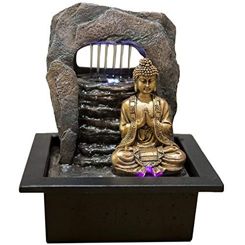 Zen Dao Brunnen mit LED-Beleuchtung von Zen Light
