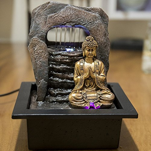 Zen Dao Brunnen mit LED-Beleuchtung von Zen Light - 4