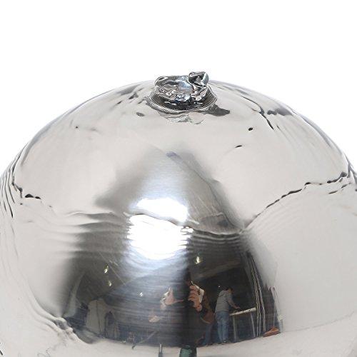 Köhko Zimmerbrunnen Rumba Kugelbrunnen mit LED-Beleuchtung - 4