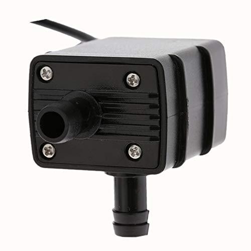Decdeal USB Wasserpumpe Teichpumpe für Brunnen Aquarium und Modellbau 220L / H Auftrieb 250cm DC5V - 3
