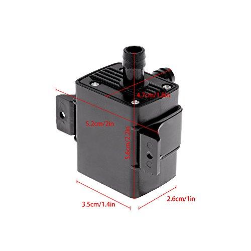 Decdeal USB Wasserpumpe Teichpumpe für Brunnen Aquarium und Modellbau 220L / H Auftrieb 250cm DC5V - 7