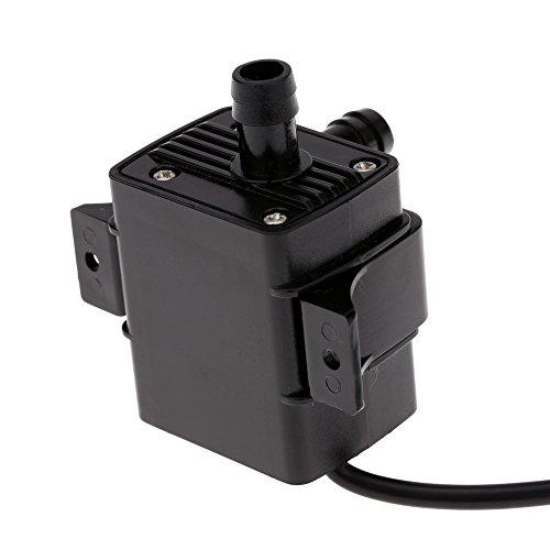 Decdeal USB Wasserpumpe Teichpumpe für Brunnen Aquarium und Modellbau 220L / H Auftrieb 250cm DC5V - 9