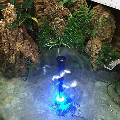 10W Unterwasser Wasserspielpumpe 500L / H mit LED Licht Beleuchtung - 3