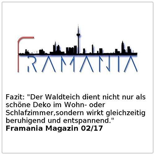 "Kaskadenbrunnen ""Waldteich"" mit LED-Beleuchtung - 4"