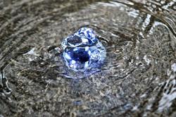 Austrittspunkt eines Brunnens