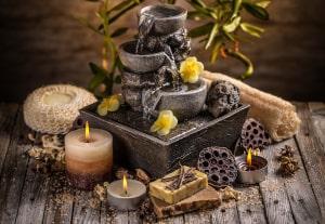 Tischbrunnen als Geschenk